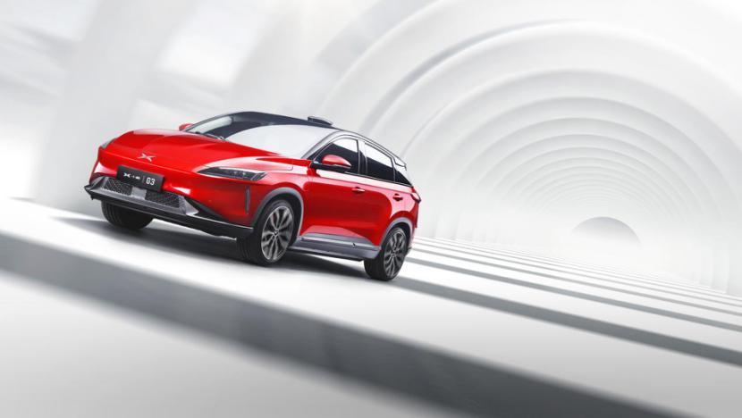 小鹏汽车旗下纯电动车型小鹏G3正式亮相 将于今年年底交付