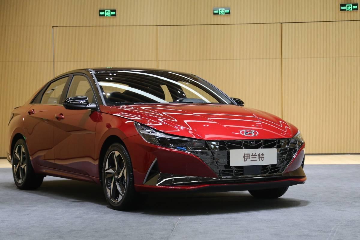 北京现代第七代伊兰特实车亮相,2020北京车展预售