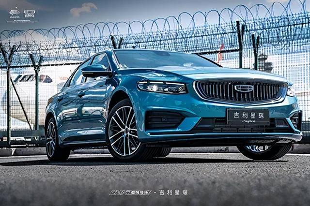 挑战合资热销轿车,吉利星瑞上市,售价11.37万起(图1)