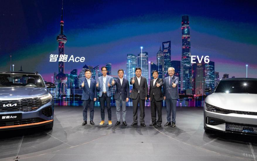 """发布新LOGO,携EV6等车,东风悦达起亚开启""""品牌重塑"""""""