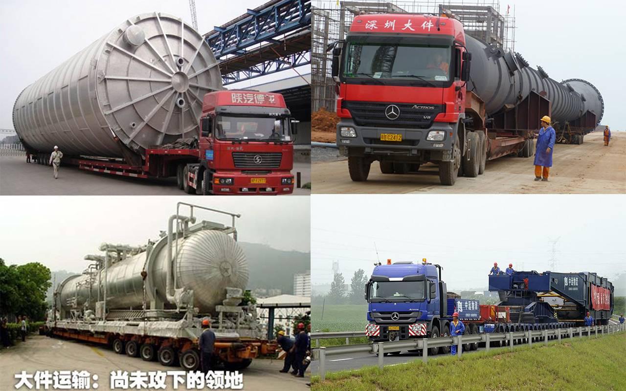 可驱动250吨总质量的庞然...
